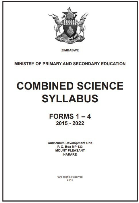 Zimsec Combined Science Syllabus Pdf