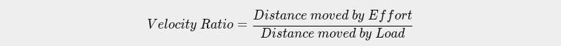 Velocity Ratio